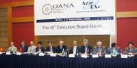 The 30th OANA Executive Board meeting at the Park Inn hotel in Baku
