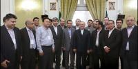 PARTICIPANTS AT TEHRAN OANA CONFERENCE MEETING WITH IRAN'S FM