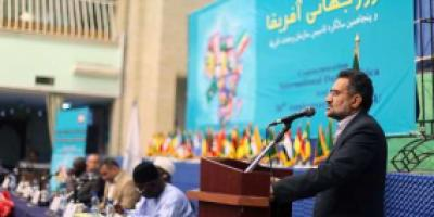 Guidance Minister Hosseini in Commemoration ceremony of Africa Day 2013