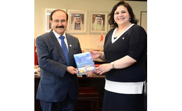 Electricity Minister receives Shura Council member