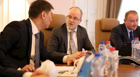 Foreign Minister Aidarbekov visits John Cockerill Corporation in Belgium