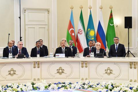 5th Summit of Heads of State of Caspian littoral states was held in Aktau