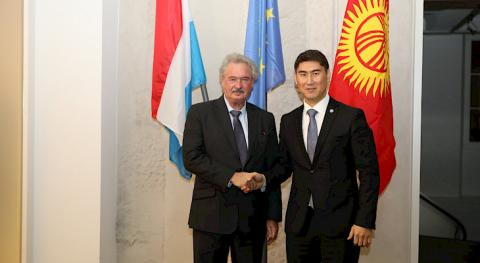 FMs of Kyrgyzstan, Luxembourg discuss issues of strengthening bilateral cooperation