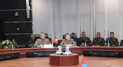 Head of General Staff of Armed Forces of Kyrgyzstan takes part in CSTO Military Committee meeting