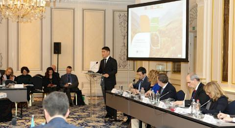 Kyrgyz FM addresses meeting of EU-CA Working Group on Environment and Climate Change
