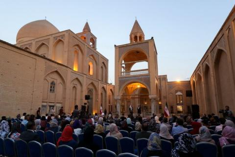 Armenian Community in Isfahan is a real symbol of national solidarity