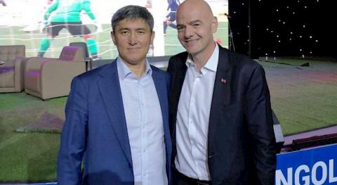 FIFA President Infantino wants to visit Kyrgyzstan