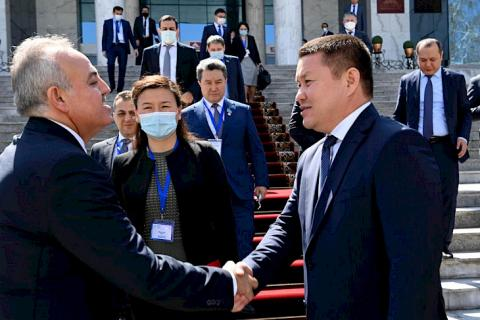 TURKPA mission monitors referendum in Kyrgyzstan and meets with officials