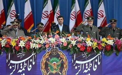 President Invites Independent States To Follow Iranian Army Model 