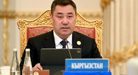 Zhaparov voices Kyrgyzstan's position on situation in Afghanistan at CSTO summit