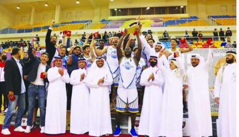 Al Gharafa Win Title of Qatar Men's Basketball League