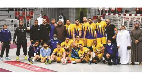 Al-Gharafa Champion of Qatar Handball Association Cup