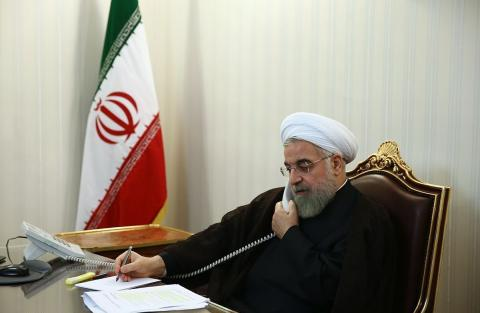 Rouhani: Iran determined to develop friendly ties with Turkey