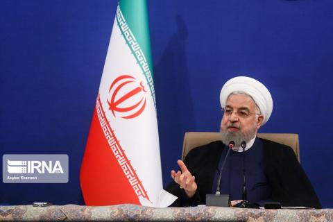 Rouhani congratulates nation on opening of soil, water projects in 40 years