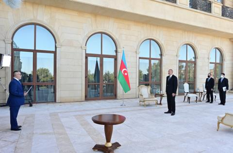 President of Azerbaijan: Without any hesitation, we support Turkey and will support it in any circumstances