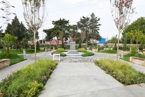 Park named after Murtuza Mukhtarov opened in Amirjan settlement, Baku President Ilham Aliyev viewed conditions created in the park