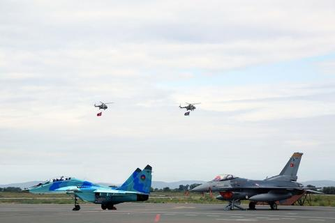 Azerbaijani, Turkish Air Forces to carry out joint flights over Ganja city