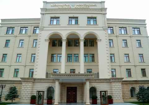 Defense Ministry: Armenian armed forces subjected to artillery fire Azerbaijan Army Units