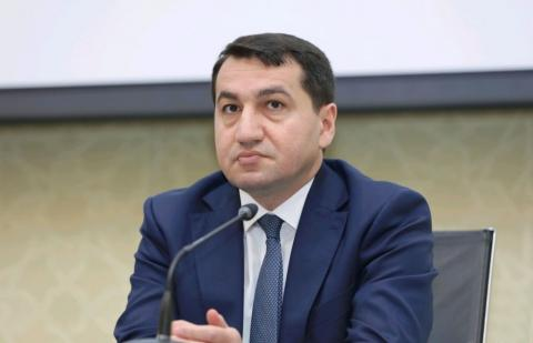 Assistant to Azerbaijani President: Armenian PM is lying over again