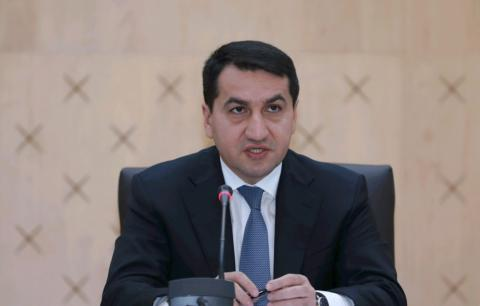 Hikmat Hajiyev: Armenia bears responsibility for violation of new humanitarian ceasefire
