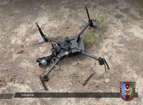 Azerbaijan destroys Armenian quadrocopter