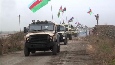 Defense Ministry: Our Army hoisted Azerbaijani flag in Aghdam VIDEO