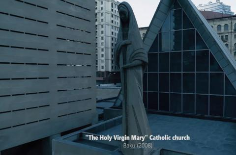 Azerbaijan's Culture Ministry releases videoclip of Holy Virgin Mary Catholic Church