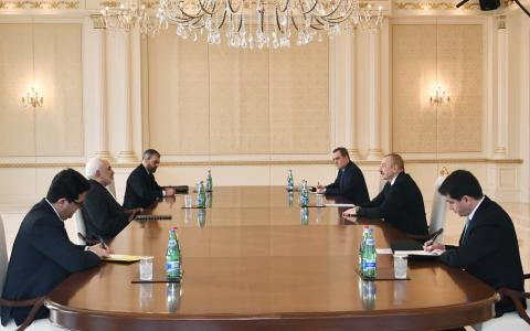 President Ilham Aliyev received Iranian Foreign Minister