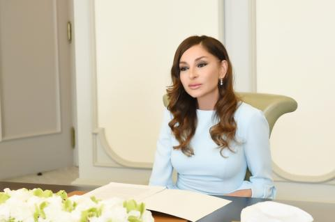 First Vice-President Mehriban Aliyeva shared footage from Zangilan visit on her Instagram page