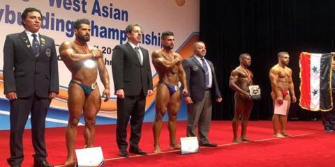 Syria grabs 8 various medals at West Asian Bodybuilding and Fitness Championship
