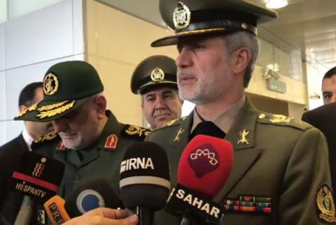 Iran Defense Minister urges world to counter Trumpism