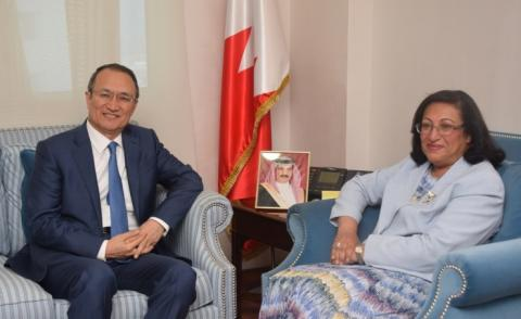 Health Minister receives Chinese ambassador