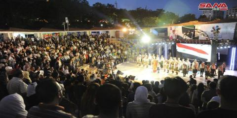 """Cham Gathers Us"" Festival kicks off in Damascus"