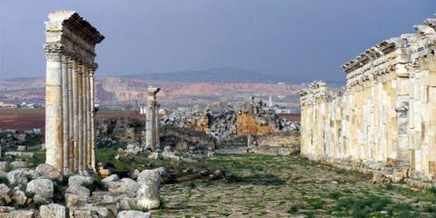 Czech website: Apamea one of most important Roman archeological sites in Syria