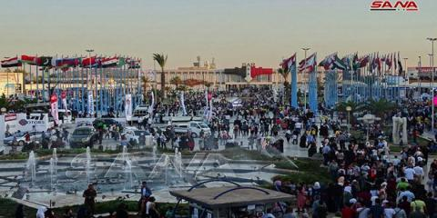 About 400 Arab and foreign businessmen invited to visit Damascus International Fair