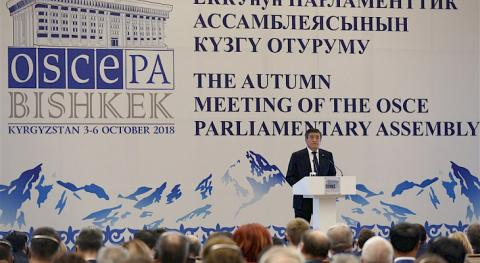 OSCE Parliamentary Assembly session opens in Kyrgyz capital