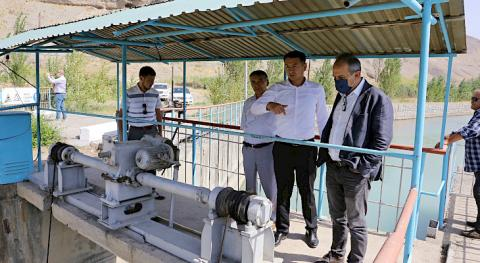 Specialists of Turkish Biotrend Energy got acquainted with infrastructure of Osh