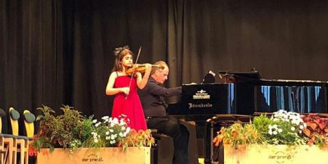 Syrian child's unique musical talent gets her admitted to leading world university
