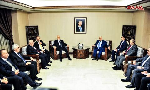 Syrian and Iraqi Foreign Ministers discuss coordination in counter-terrorism, reopening border crossings