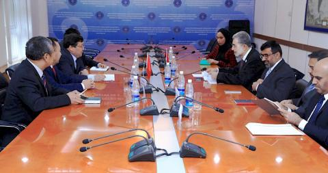 Deputy FMs of Kyrgyzstan and UAE discuss priority areas of cooperation