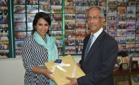 Institute of Diplomacy's Executive Director meets Pakistani Foreign Ministry's official