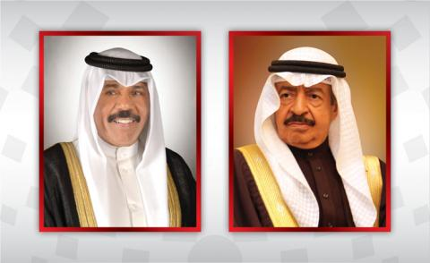 HRH Premier receives condolences cable from Kuwaiti Crown Prince