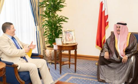 HM King's Diplomatic Advisor receives UK ambassador