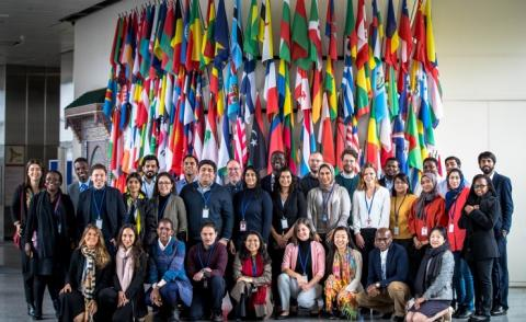 AGU participates in international youth meeting on environment