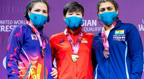 Wrestling tournament in Almaty: Kyrgyzstan has 6 Olympic licenses, 9 medals