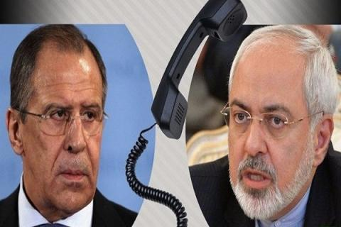 Zarif, Lavrov hold phone call to discuss Iran nuclear deal, Syria