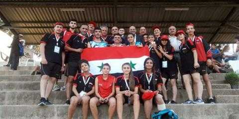 Two gold medals and a silver one for Syria in the 2nd day of West Asia Championship
