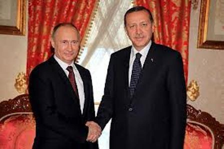 Turkish PM To Discuss Syria, Egypt With Putin
