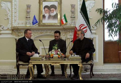 Larijani: Iran Keen On Long-term Economic Co-op With Belarus