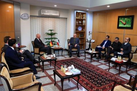 Iran, Germany to expand environmental coop.
